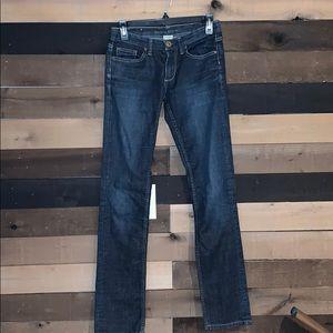 Banana Republic Blue Jeans Straight Legs